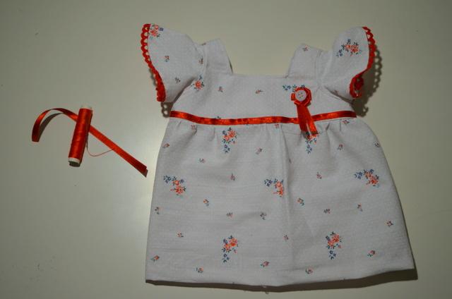 Como hacer vestido para muñeca - Imagui