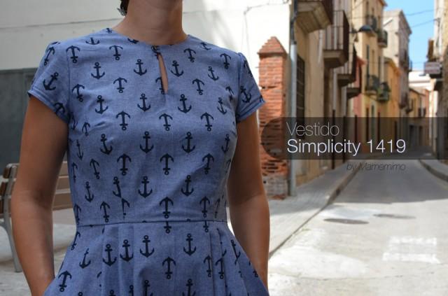 Vestido Simplicity 1419