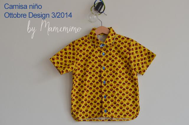 Camisa niño Ottobre design 3/2012 modelo 19