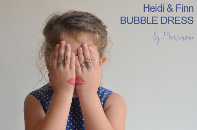 Bubble dress de Heidi&Finn