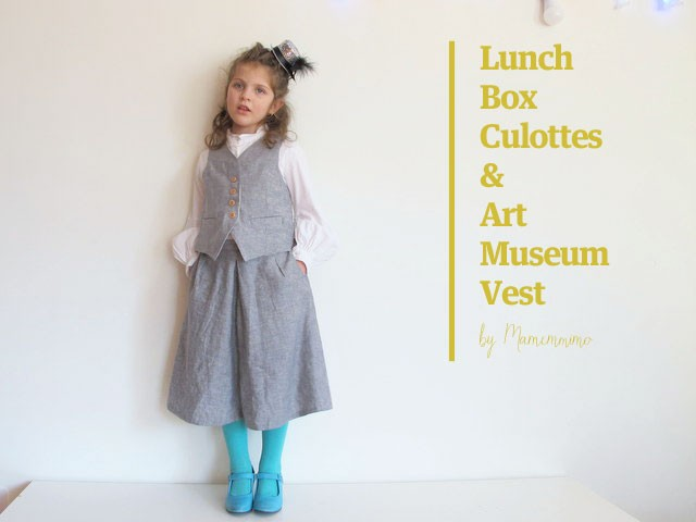 Lunch Box Culottes & Art Museum Vest
