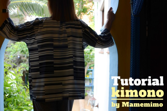 Tutorial Kimono mujer