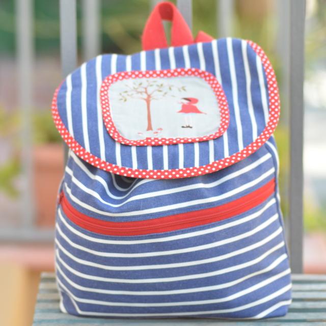 mochila infantil by caterina p rez ma me mi mo