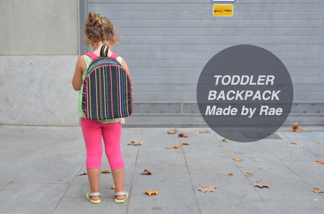 mamemimo: Toddler Backpack
