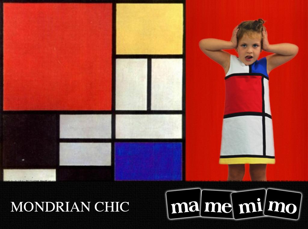 mamemimo: Mondrian Chic