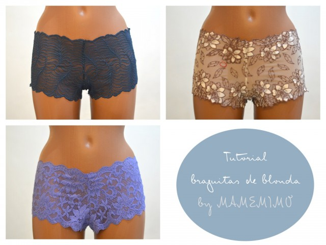 Ideas regalo: culotte de blonda con tutorial