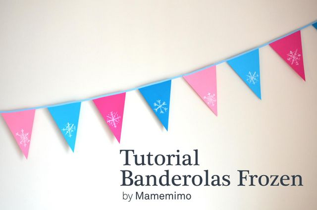 Frozen Party: la decoración y mini tutorial
